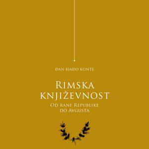 Rimska književnost: od rane republike do Avgusta